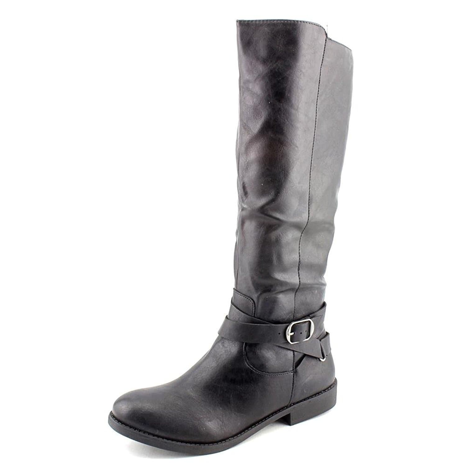 1c9bfd7441b Shop Style   Co. Womens Madixe Round Toe Mid-Calf Riding Boots - On ...