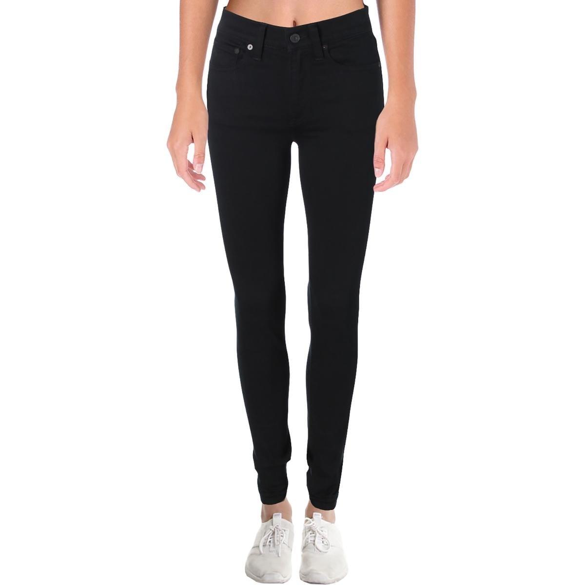 Wash Skinny Jeans Ralph Tompkins Denim Black Lauren Polo 26 Womens f7IgY6byv