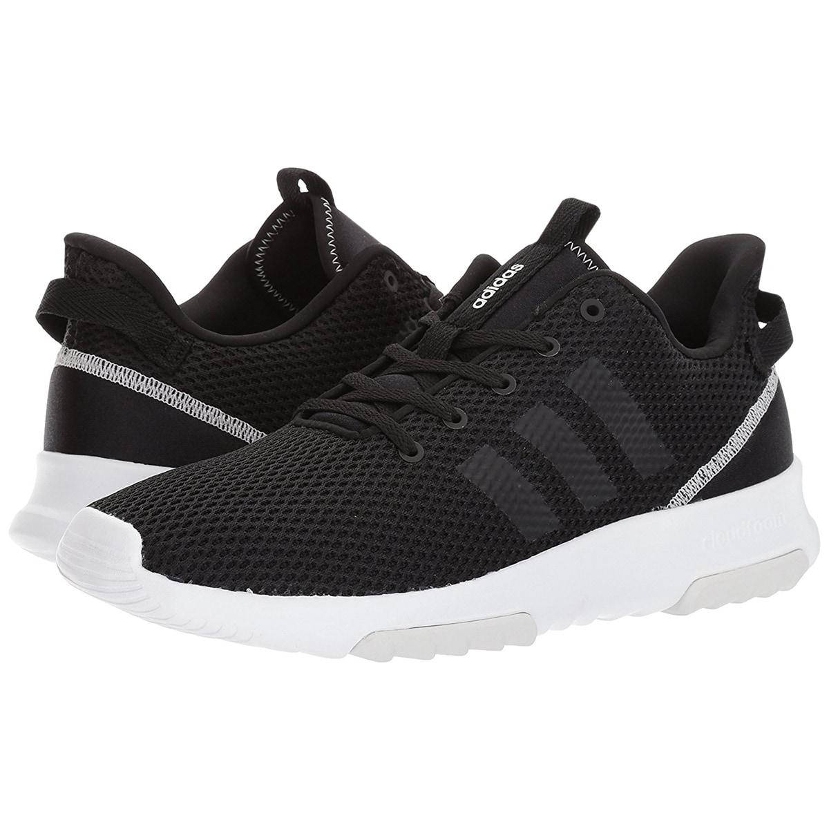 Shop Adidas Women s Neo CloudFoam Racer Trail Running Shoes - Black ... 7ba3bffc1