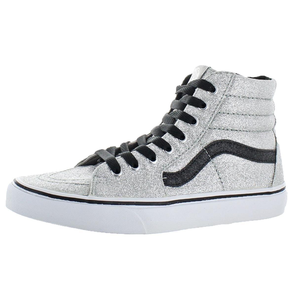 41c04bdf087b Shop Vans Womens Sk8-Hi(Glitter) Skate Shoes Fashion High Top - 9 medium  (b