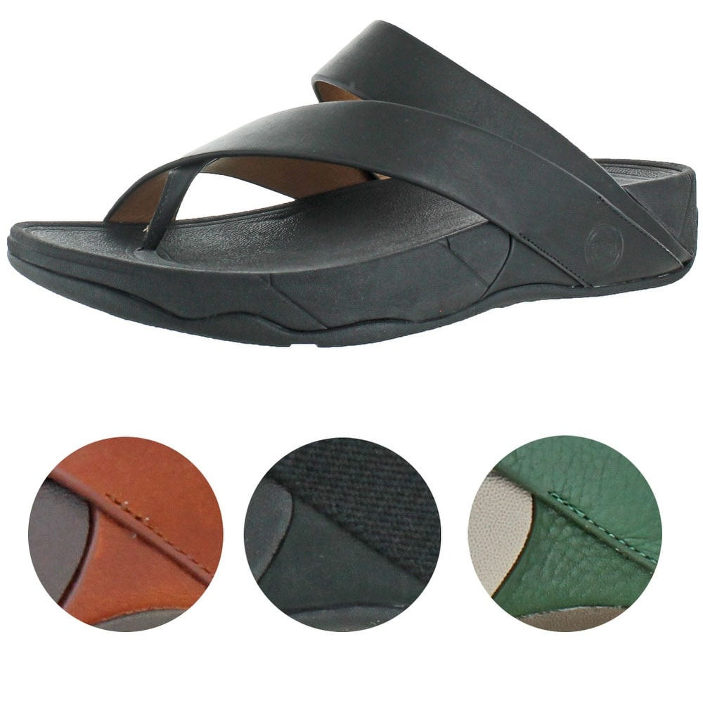 3ddb1fbf2a88 Shop FitFlop Sling Men s Criss Cross Strap Slide Sandals - Free Shipping On  Orders Over  45 - Overstock - 20636407