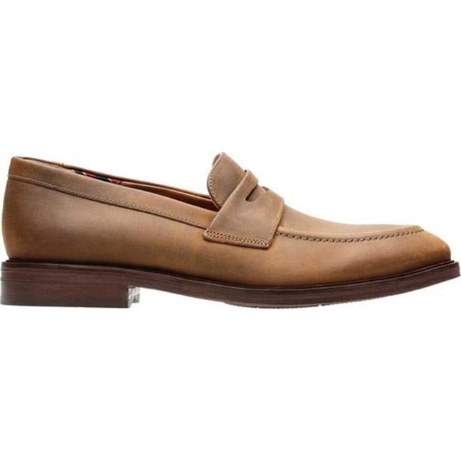 5939a96d20a Shop Bostonian Men s Mckewen Step Penny Loafer Brown Leather - Free  Shipping Today - Overstock - 20646161