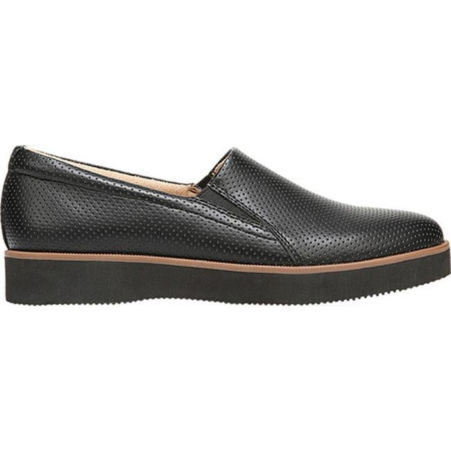 fda368a1499 Shop Naturalizer Women s Zophie 2 Slip On Black Smooth Synthetic - Free  Shipping Today - Overstock - 21691986