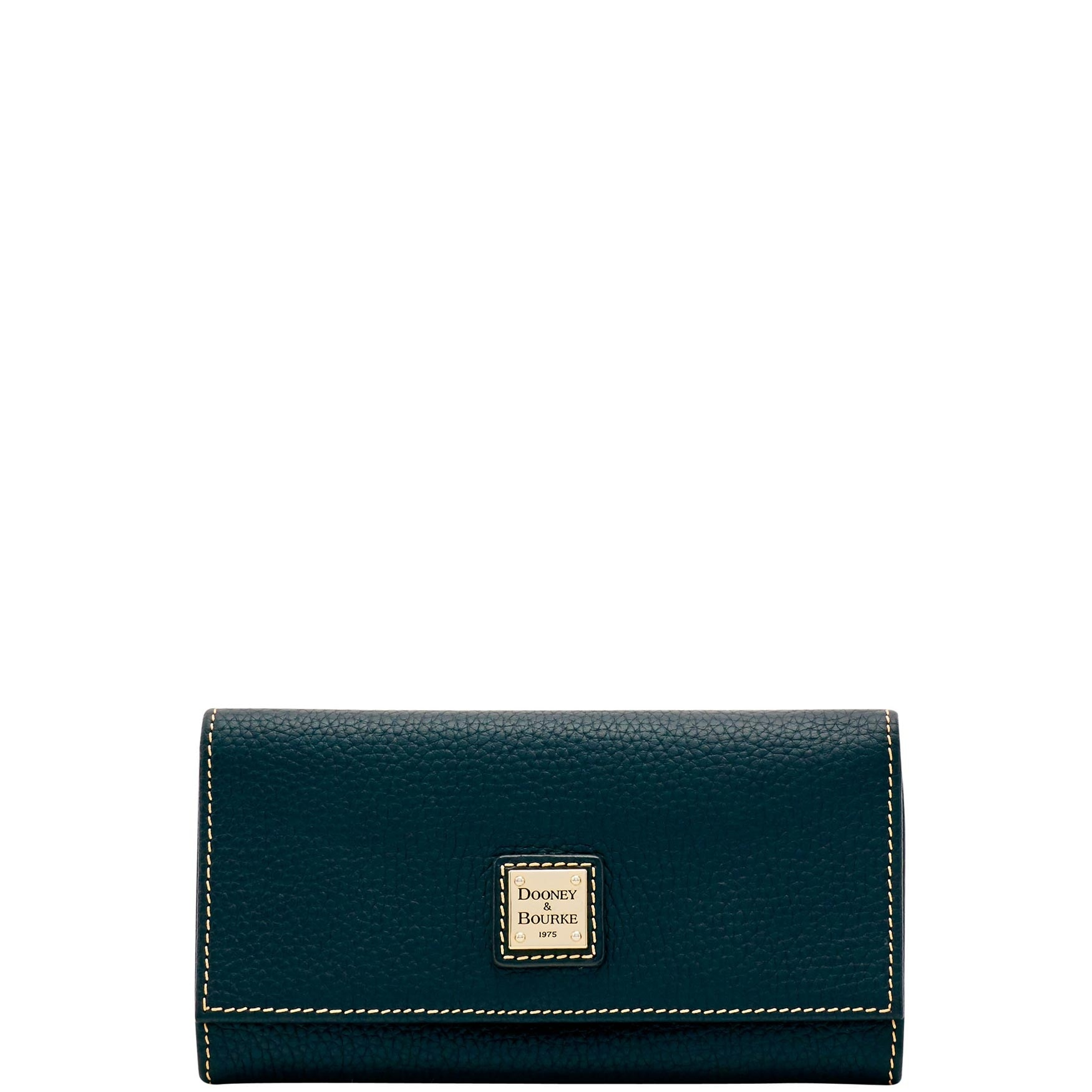 70d85ae245 Dooney & Bourke Pebble Grain Framed Continental Wallet (Introduced by  Dooney & Bourke at $148 in Nov 2018)