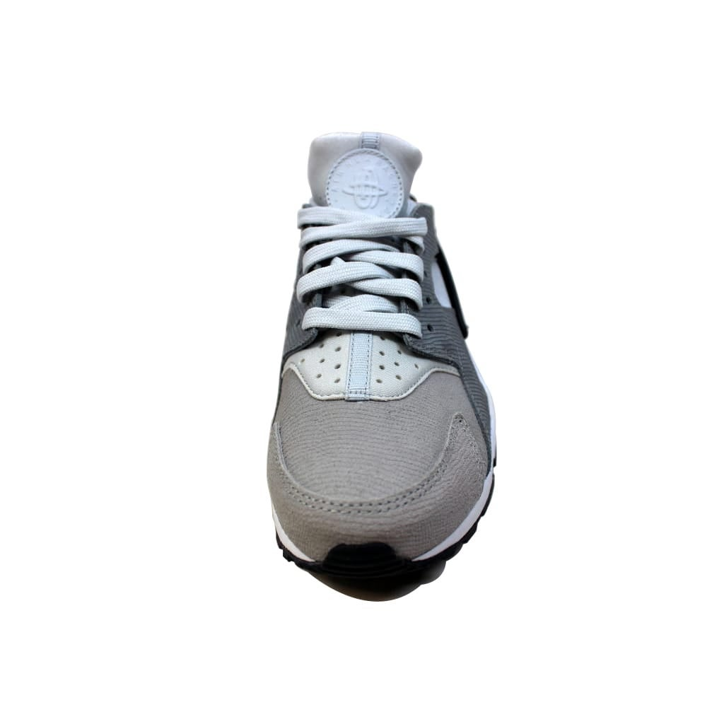 367280bb0c1e5 Shop Nike Women s Air Huarache Run Premium Pure Platinum Cool Grey -Anthracite-Matte Silver 683818-009 - Free Shipping Today - Overstock -  20140358