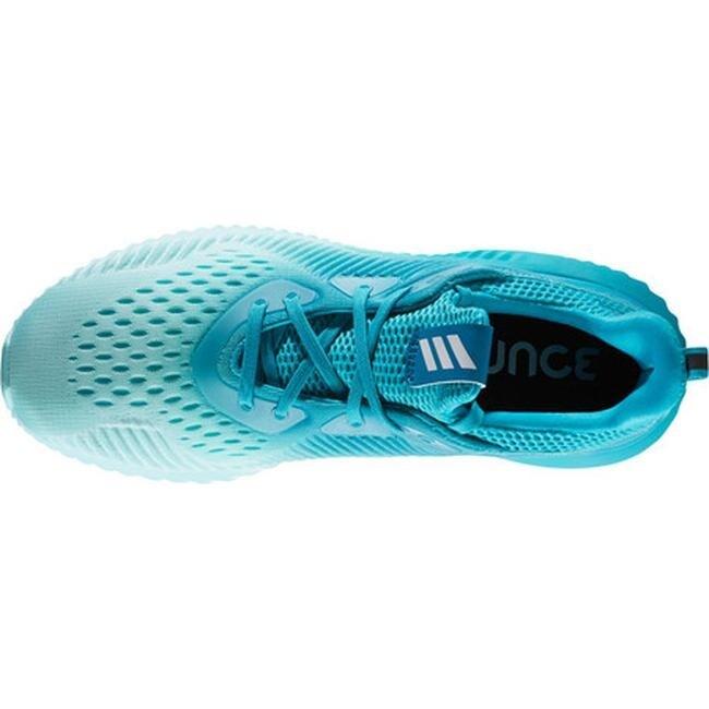 a709dd8cc Shop adidas Women s AlphaBOUNCE EM Running Shoe Energy Blue S17 Energy Aqua  F17 Mystery Petrol F17 - Free Shipping Today - Overstock - 17917584