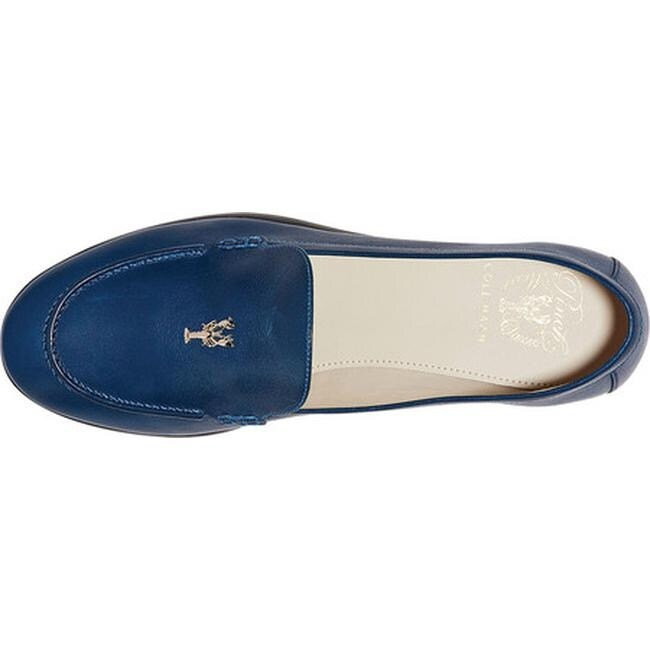 add9f99db0f Shop Cole Haan Women s G.Os Pinch Lobster Loafer Navy Peony Leather - Free  Shipping Today - Overstock - 21656020