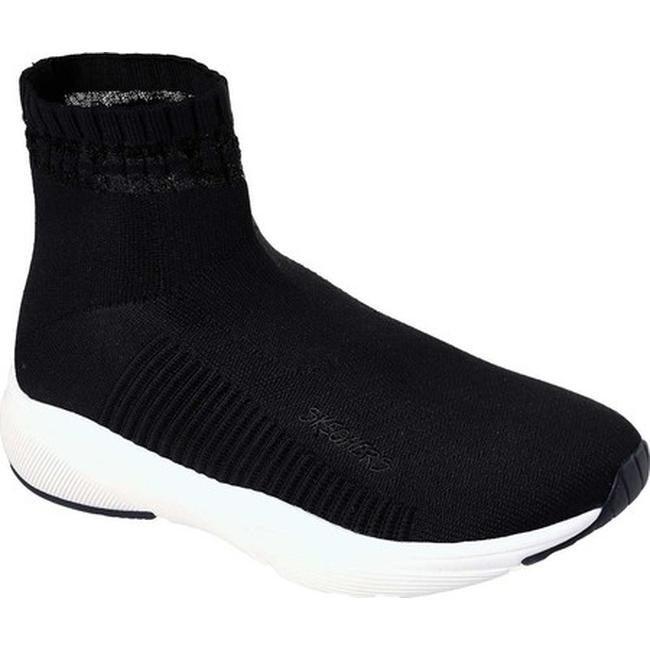 c328102ac112 Shop Skechers Women s Meridian On the Rise High Top Sneaker Black ...