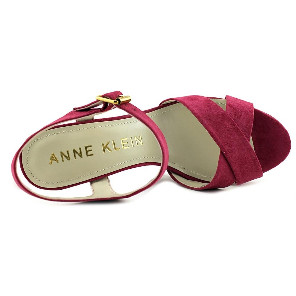 6c1f68c6a58c Shop Anne Klein Lalima Women Open Toe Synthetic Pink Platform Heel - Ships  To Canada - Overstock - 16984948