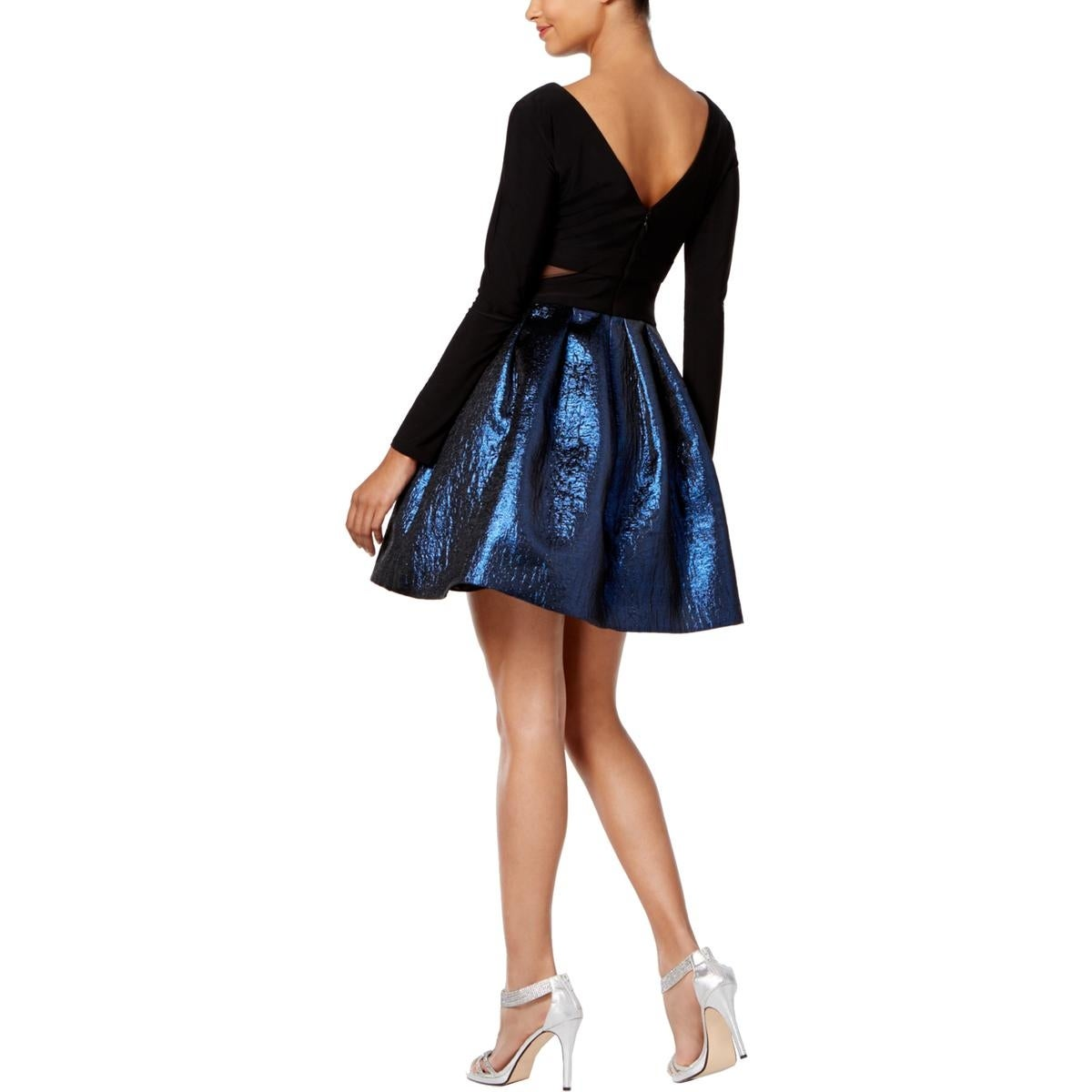 4032f478 Shop Xscape Womens Cocktail Dress Fit & Flare Mini - Free Shipping On  Orders Over $45 - Overstock - 25669927