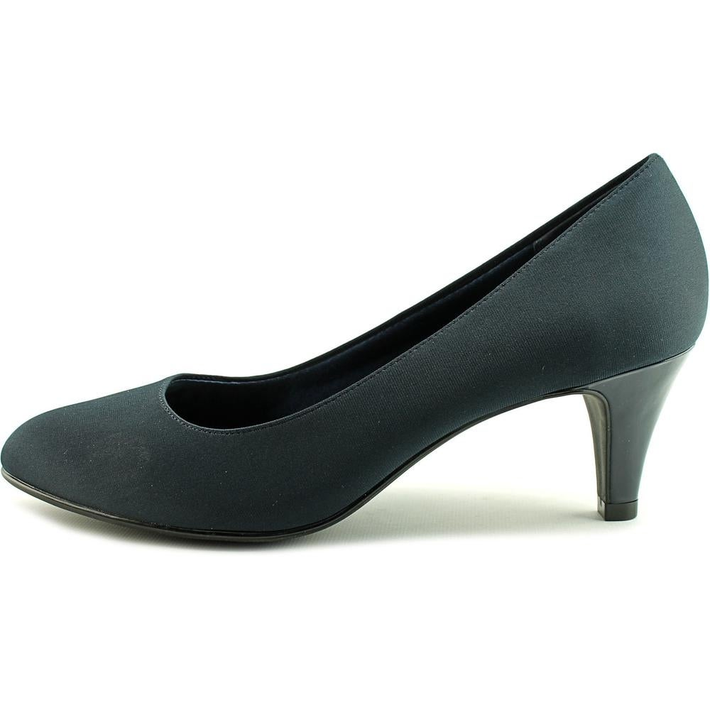 a708ffb77eb Abella Sahara Women Round Toe Canvas Blue Heels - Free Shipping On Orders  Over  45 - Overstock - 20625708