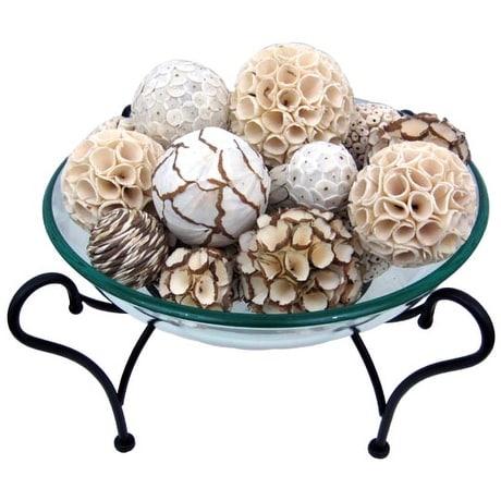 Shop Lot Of 40 Natural Decorative Balls 4040 Inch Diameter Free Unique Natural Decorative Balls