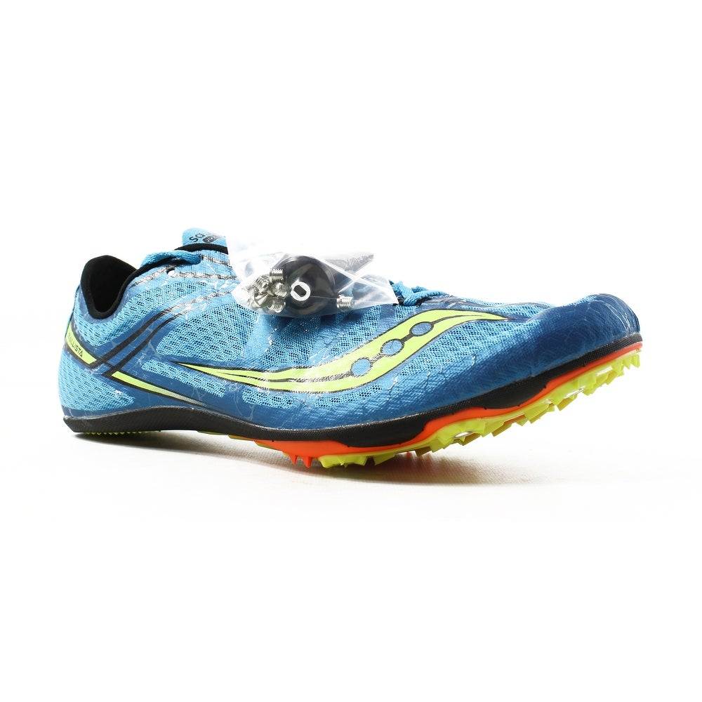 Shop Saucony Mens Ballista Blue Citron Track Cleats Size 12.5 - On ... a81cd1ccc