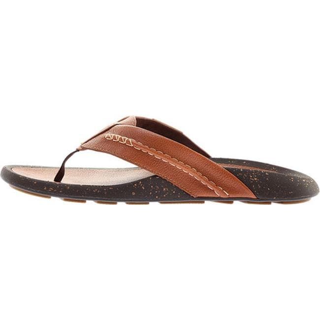 58b44072cd Shop Cole Haan Men's Brady Thong Sandal British Tan Leather - Free Shipping  Today - Overstock - 20853215