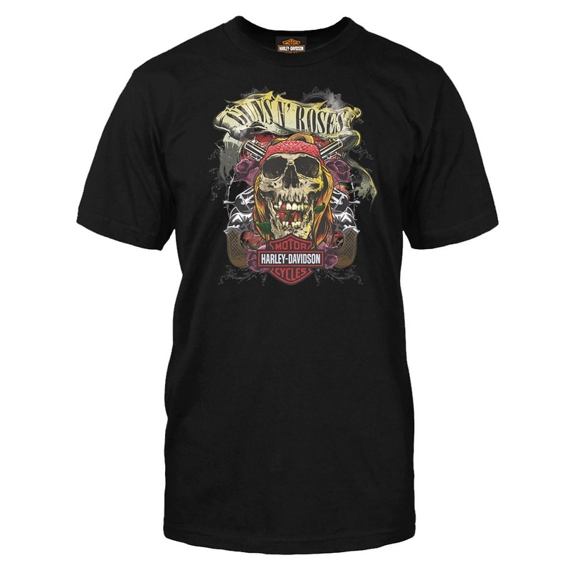 543f10c67dc Shop Harley-Davidson Men s Guns N  Roses Trashy Short Sleeve T-Shirt ...
