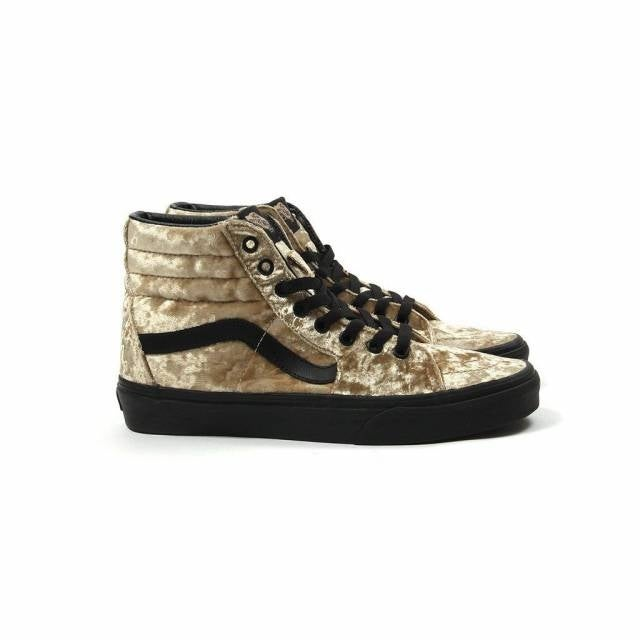 Shop Vans Womens SK8-Hi - Velvet Velvet Low Top Lace Up Fashion Sneakers -  Free Shipping On Orders Over  45 - Overstock - 18539349 53a394a7b