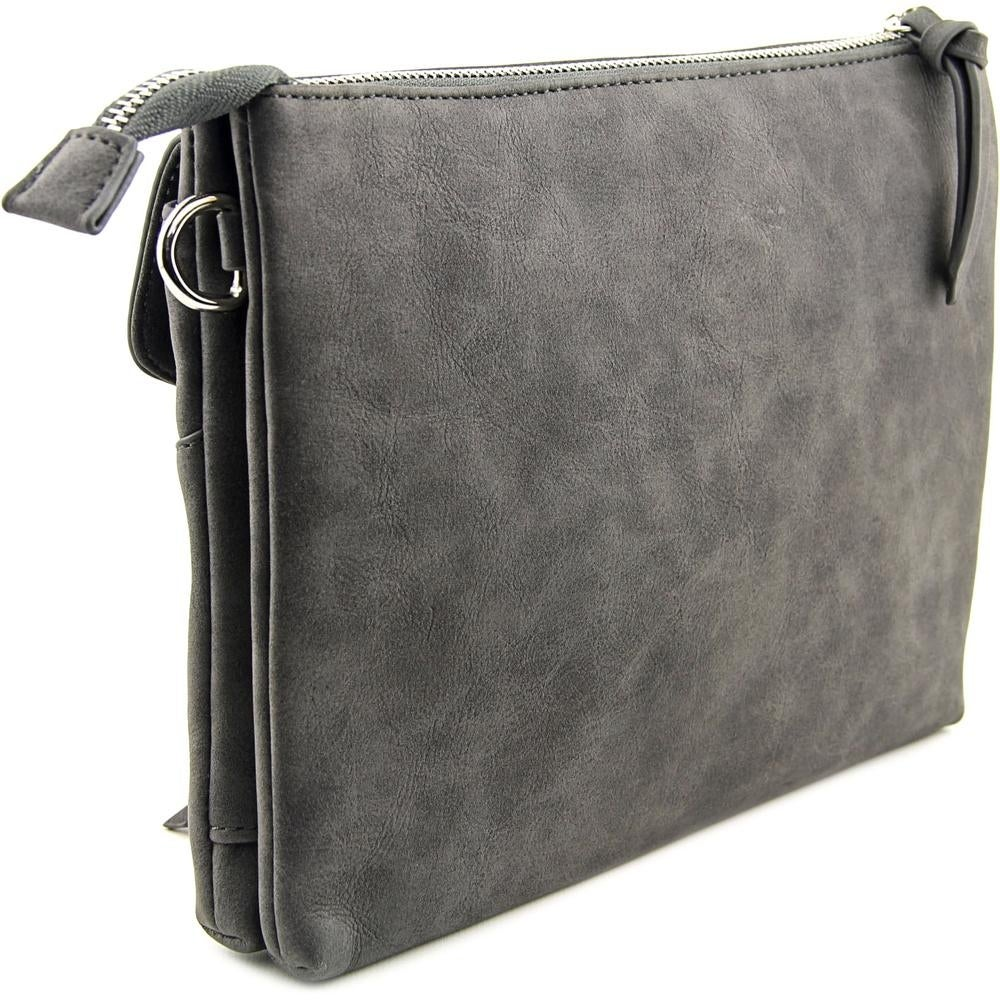 e27b9ed2e074 Shop Violet Ray Leanna Envelope Crossbody Women Synthetic Messenger - gray  - Free Shipping On Orders Over  45 - Overstock - 14317901