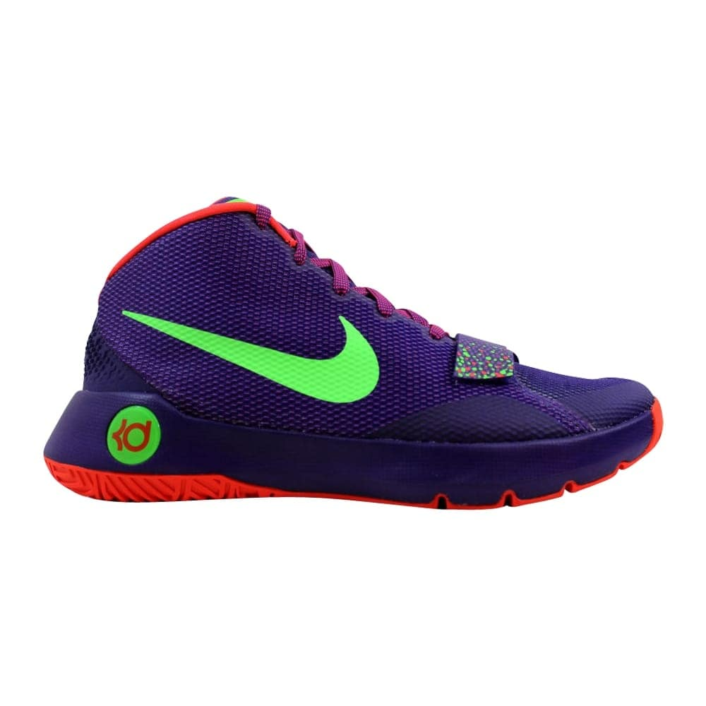 more photos 5283b f90a0 Nike KD Trey 5 III Court Purple Green Streak-Bright Crimson 749377-536 Men s