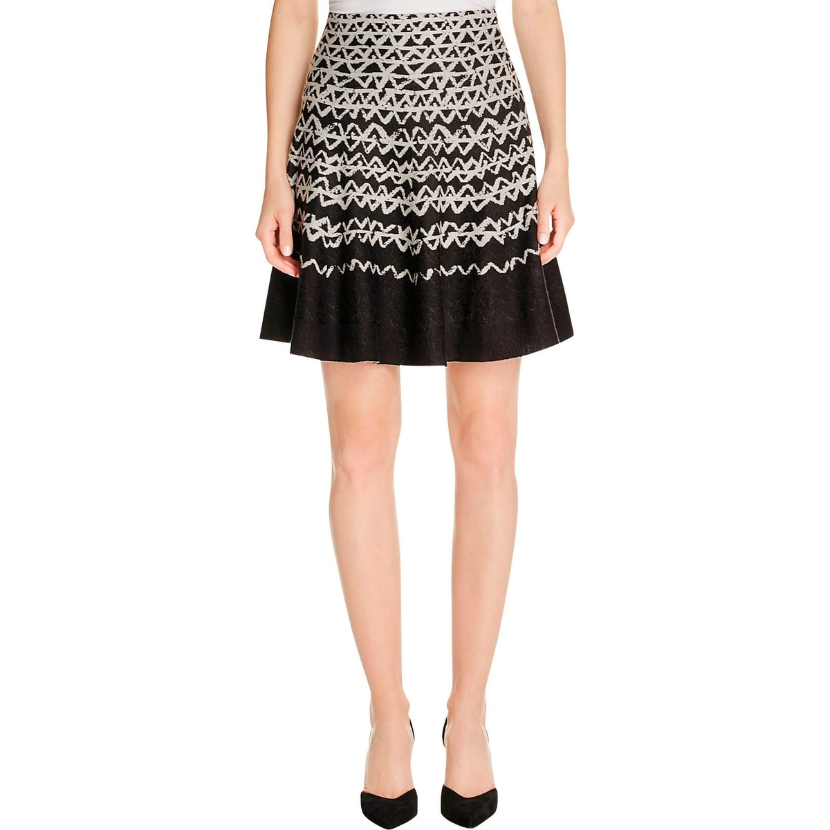 Nic+Zoe Womens A-Line Skirt Knit Pattern - Free Shipping On Orders ...