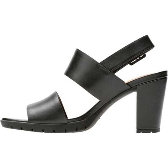 452ce0e5e7c9 Shop Clarks Women s Kurtley Shine Slingback Black Full Grain Leather - Free  Shipping Today - Overstock - 20592422
