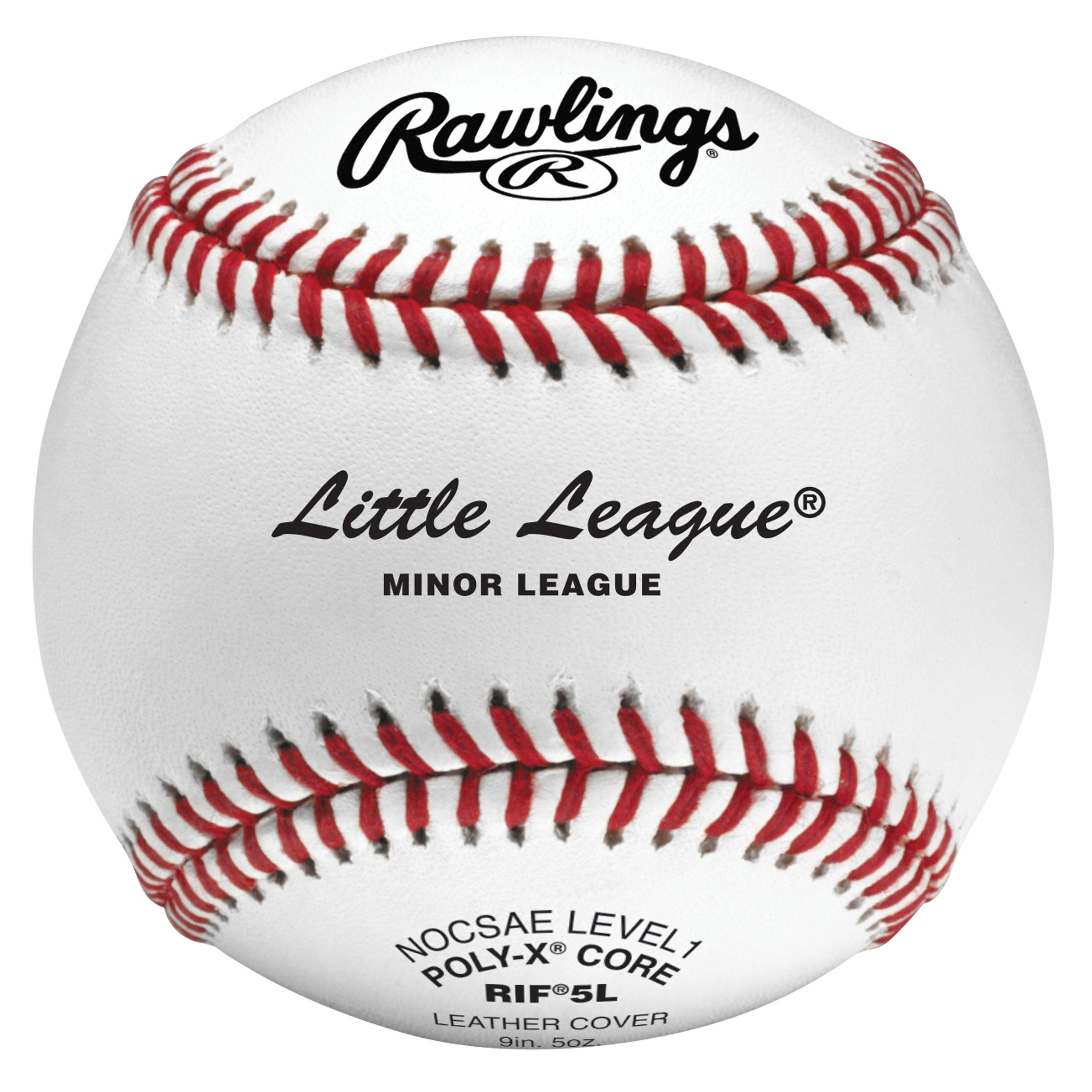 b02b7a403f0 Shop Rawlings RIF5 Level 1 Little League Baseball (Dozen) White - Free  Shipping Today - Overstock - 17741177