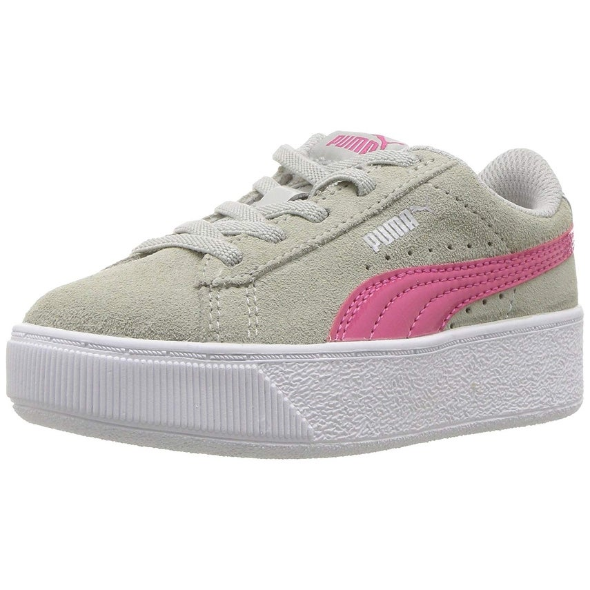 Shop Kids Puma Girls Vikky Platform Low Top Lace Up Walking Shoes - Free  Shipping On Orders Over  45 - Overstock - 26262867 7ff834b54