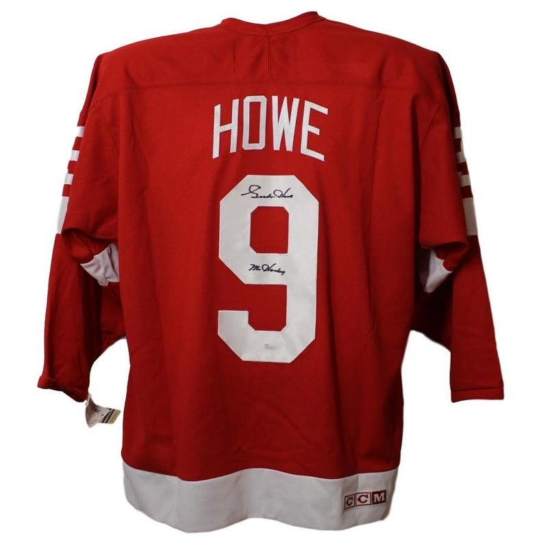 Shop Gordie Howe Autographed Detroit Red Wings CCM Red XL Jersey JSA - Free  Shipping Today - Overstock - 23500778 5bd6b2ed256