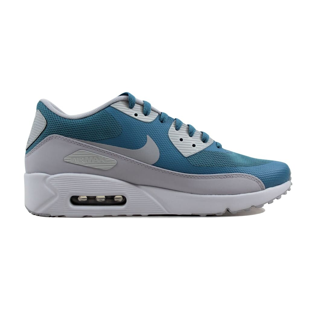 Nike Air Max 90 Ultra 2. 0 Essential Smokey Blue Wolf Grey 875695 001 Men's Sport Running Shoes Sneakers