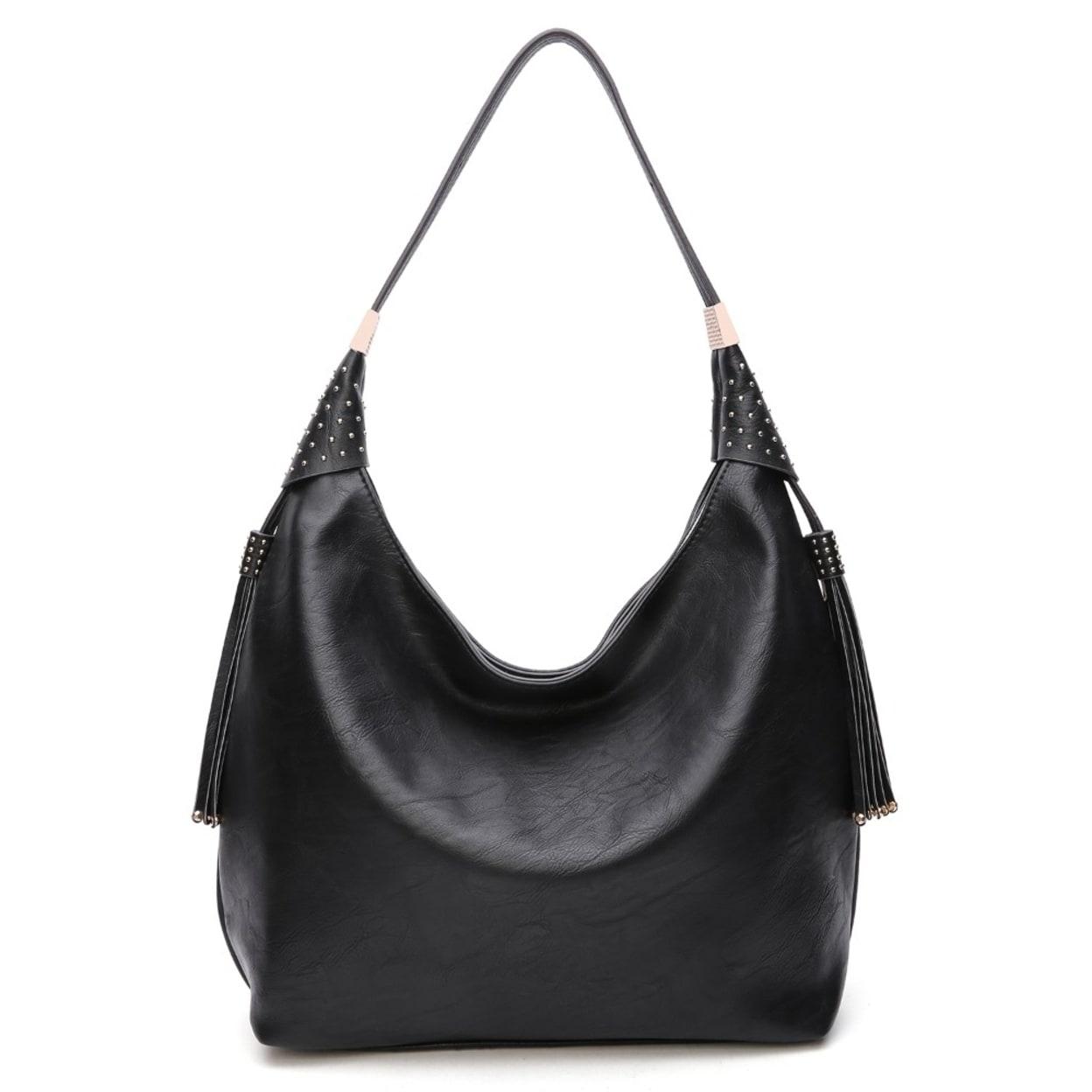 Shop MKF Collection Alya Vegan Leather Fashion Hobo Bag by Mia K ... 0066151ef1111