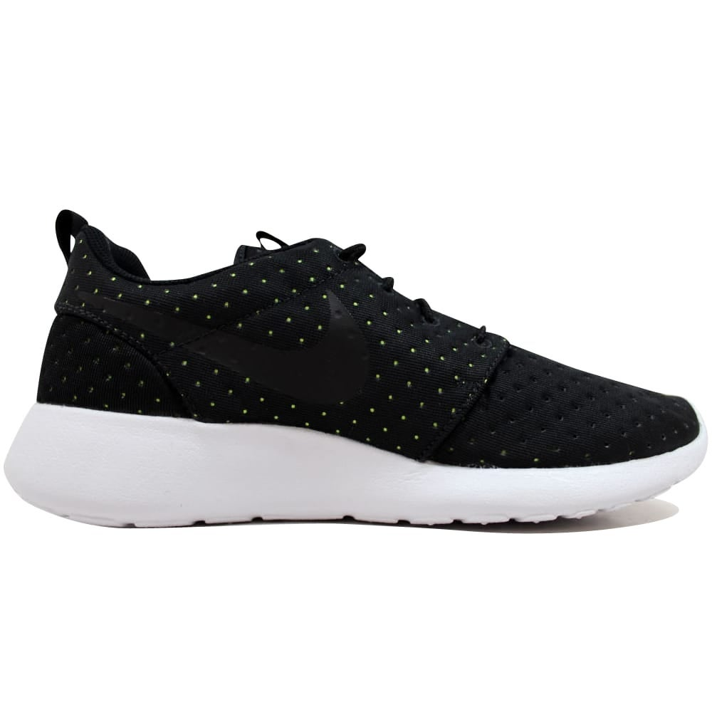 0f5b891a08fe Shop Nike Roshe One 1 SE Black Black-Volt 844687-001 Men s - On Sale - Free  Shipping Today - Overstock - 19507460