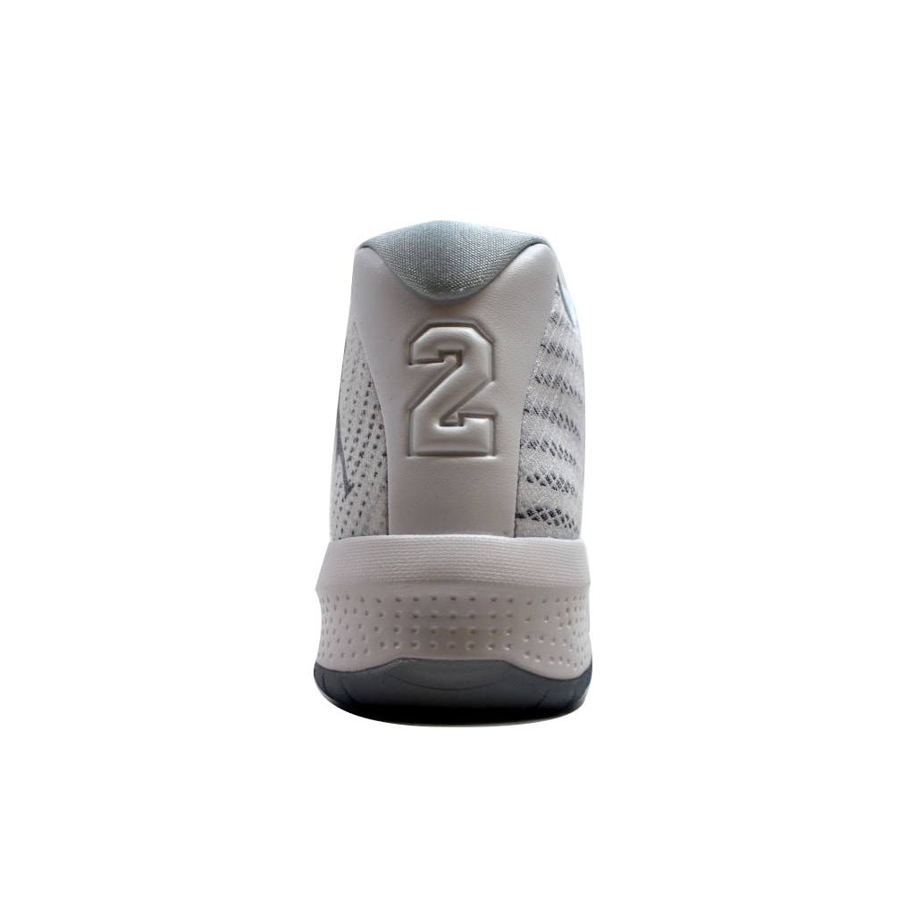 3e1acf8d96a1 Shop Nike Men s Air Jordan B. Fly White Wolf Grey-Pure Platinum 881444-100  - Free Shipping Today - Overstock - 20129212