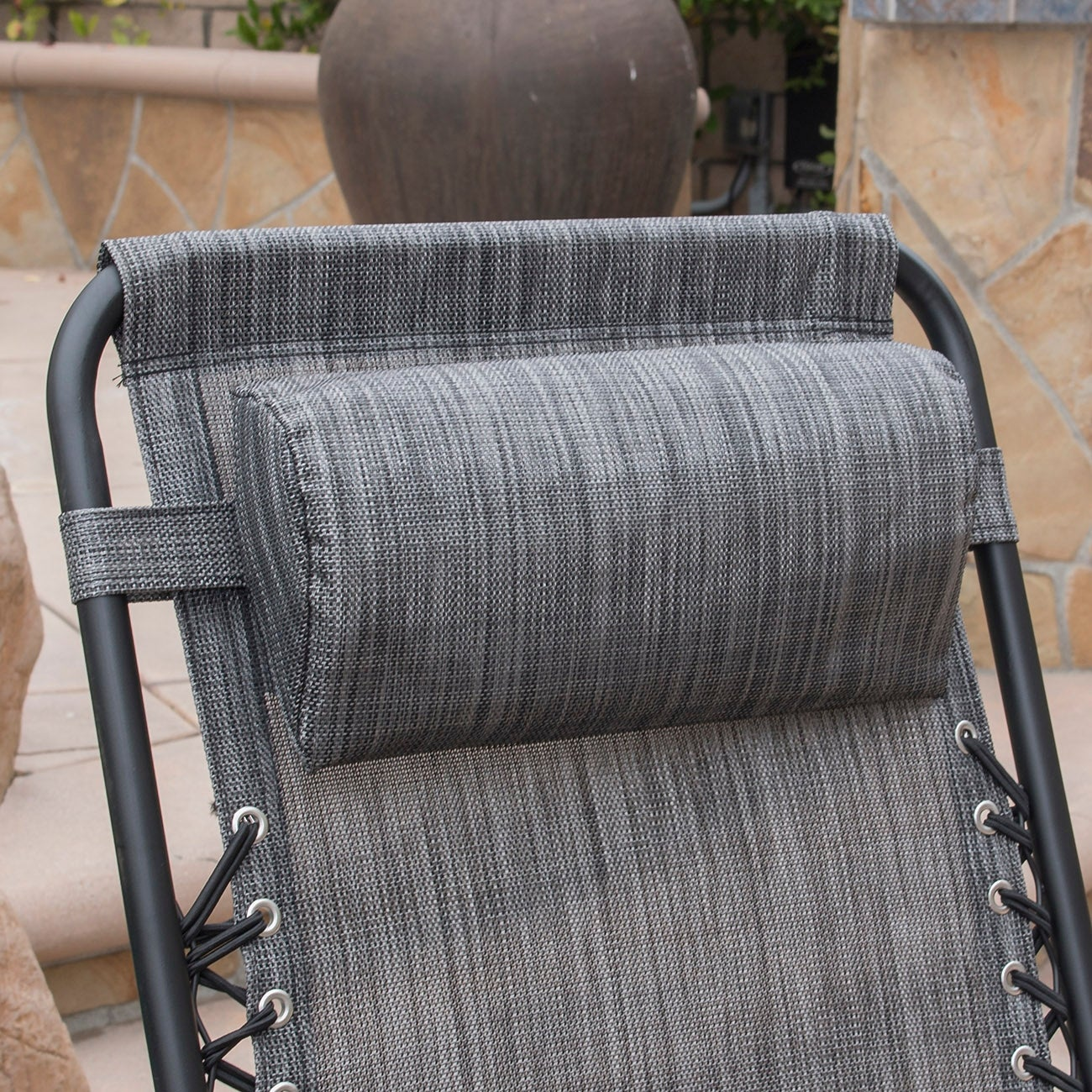 16d565016e Shop BELLEZE Zero Anti Gravity Reclining Backyard Outdoor Chairs Set of (2)  Tray Cup Slot Holder, Gray - Free Shipping Today - Overstock - 15874197