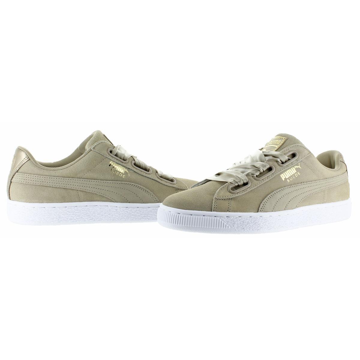 775ac3db328df8 Shop Puma Womens Suede Heart Safari Fashion Sneakers Low Top Casual ...