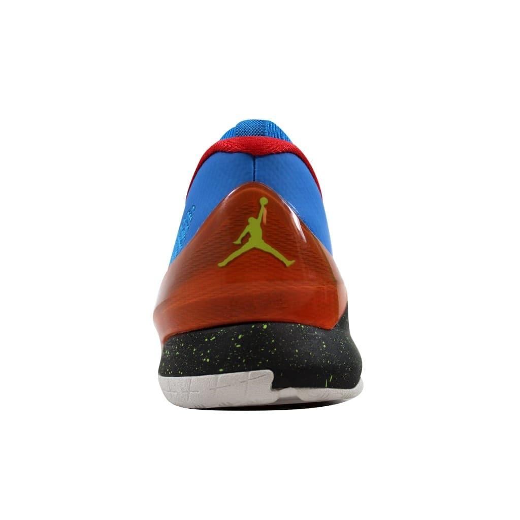 db8b5153612e Shop Nike Air Jordan CP3 VIII 8 BG Photo Blue Cyber-Electric Orange-Black  684876-470 Grade-School - Free Shipping Today - Overstock - 21893018