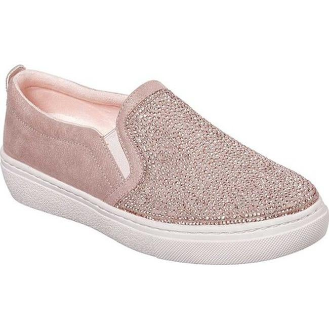 c8a29046e306 Shop Skechers Women s Goldie High Key Slip-On Sneaker Rose Gold - Free  Shipping Today - Overstock - 27414590