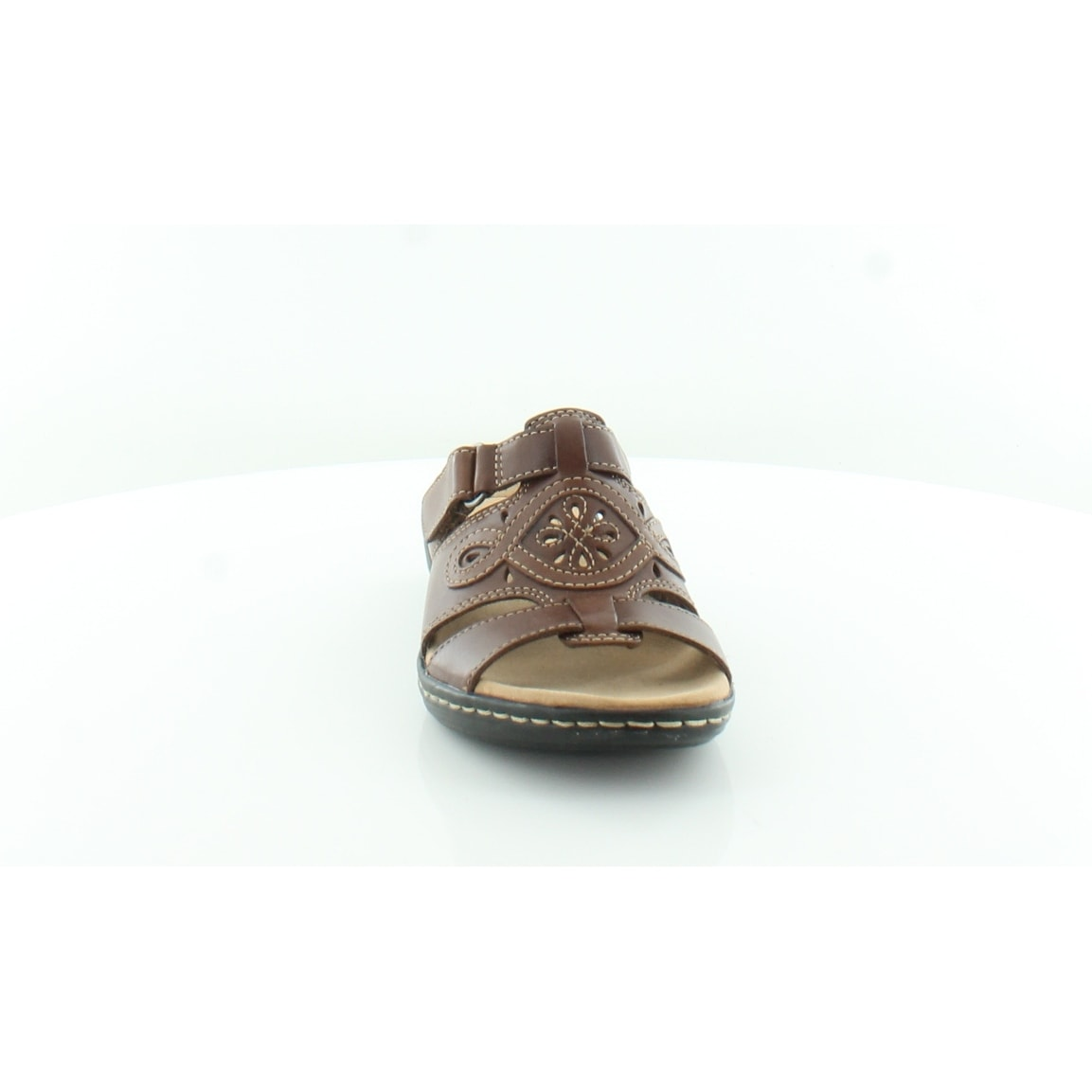 0b5a4155796f Shop Clarks Leisa Higley Women s Sandals Tan - 5.5 - Free Shipping Today -  Overstock.com - 27036245