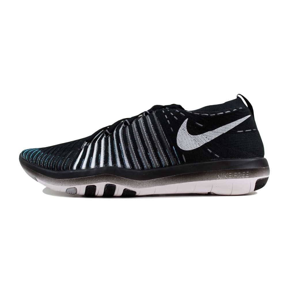 3f84f9df445d Shop Nike Women s Free Transform Flyknit Black White-Wolf Grey-Dark Grey  833410-001 Size 11.5 - On Sale - Free Shipping Today - Overstock - 22919380