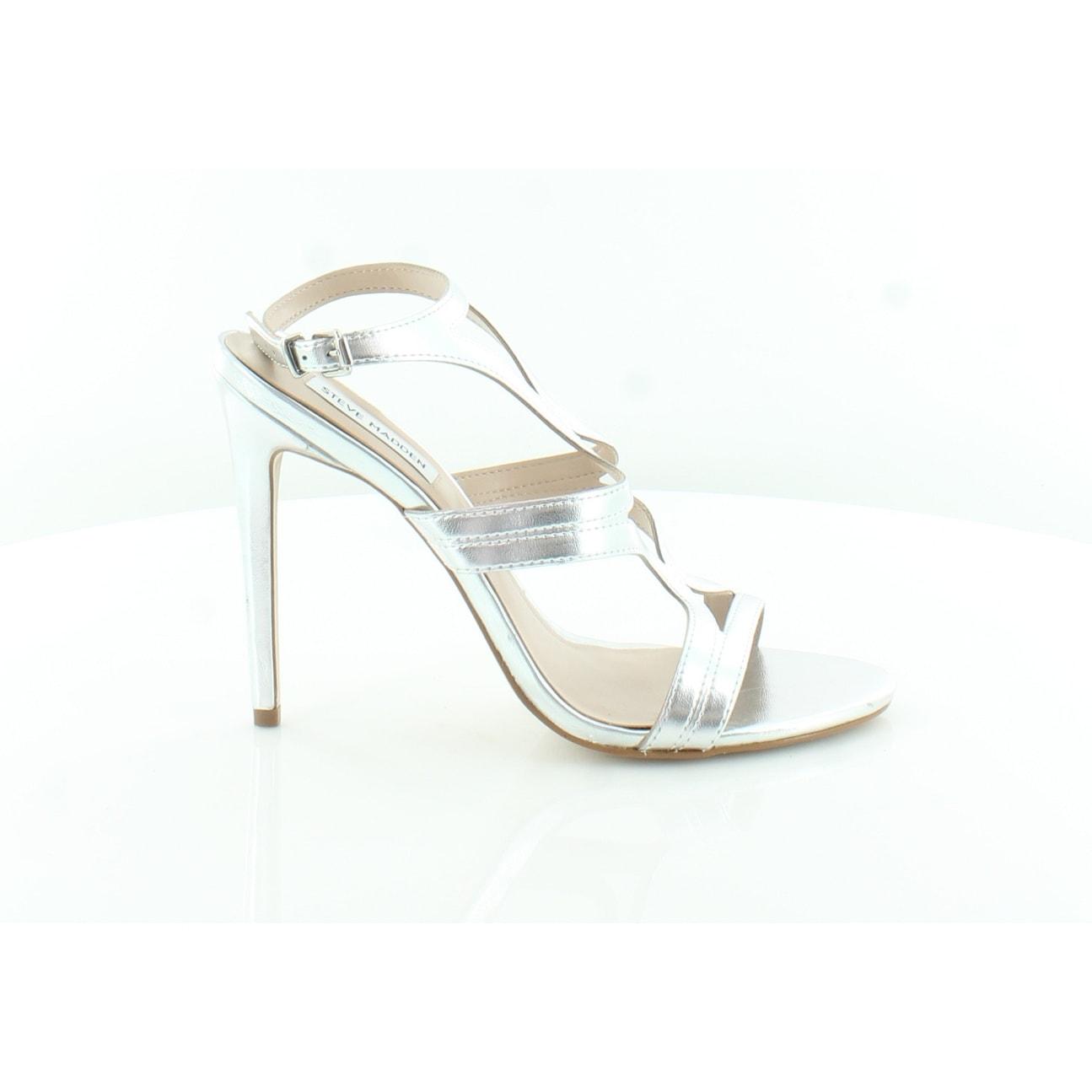 1cc8fc3cc4f Shop Steve Madden Sidney Women s Heels Silver - Free Shipping Today - -  27481142