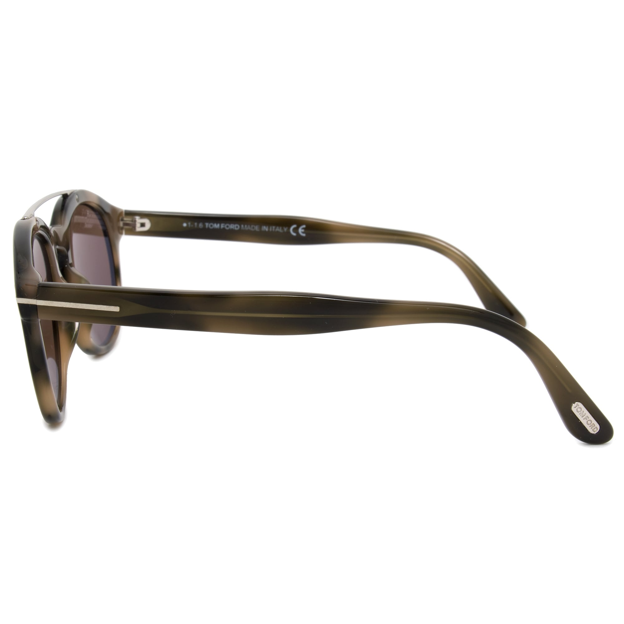 678e4a272c Shop Tom Ford Newman Round Sunglasses FT0515 55E 53 - Ships To Canada -  Overstock - 21408784