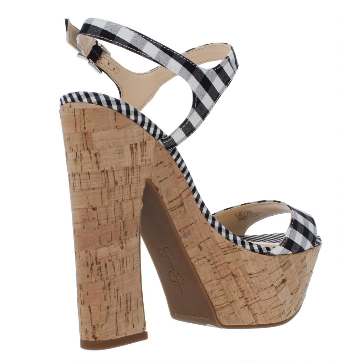 4227f47e42a5 Shop Jessica Simpson Womens Divella Platform Sandals Leather High Heel -  Free Shipping On Orders Over  45 - Overstock - 27619670
