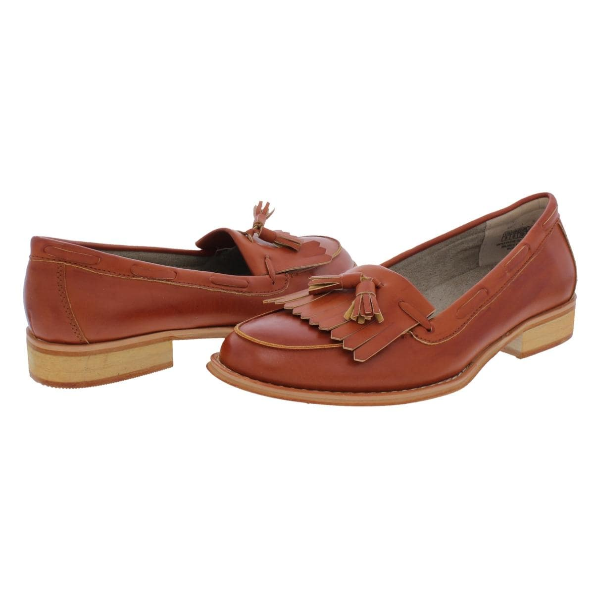 fcf2ecd367f Steve Madden Womens Majorrr Loafers Fringe Faux Leather