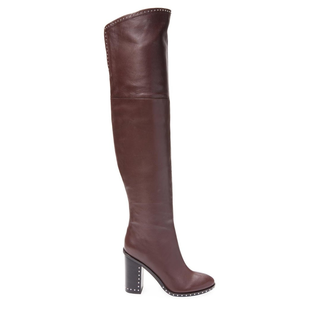cc12aefe406 Shop Sigerson Morrison Womens Mars Leather Closed Toe Over Knee Fashion  Boots - 10 - Free Shipping Today - Overstock - 25457877