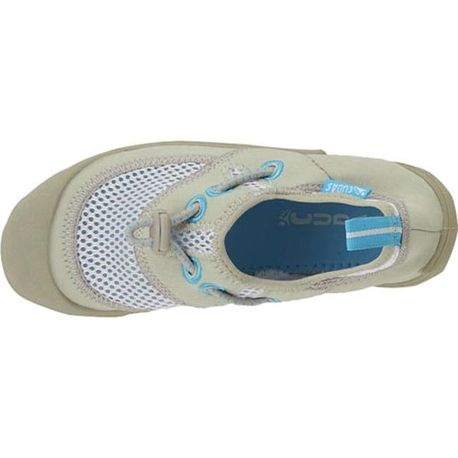 1eeb31f035e7b Shop Cudas Women s Hyco Water Shoe Silver Air Mesh Neoprene - On Sale -  Free Shipping On Orders Over  45 - Overstock.com - 11521501