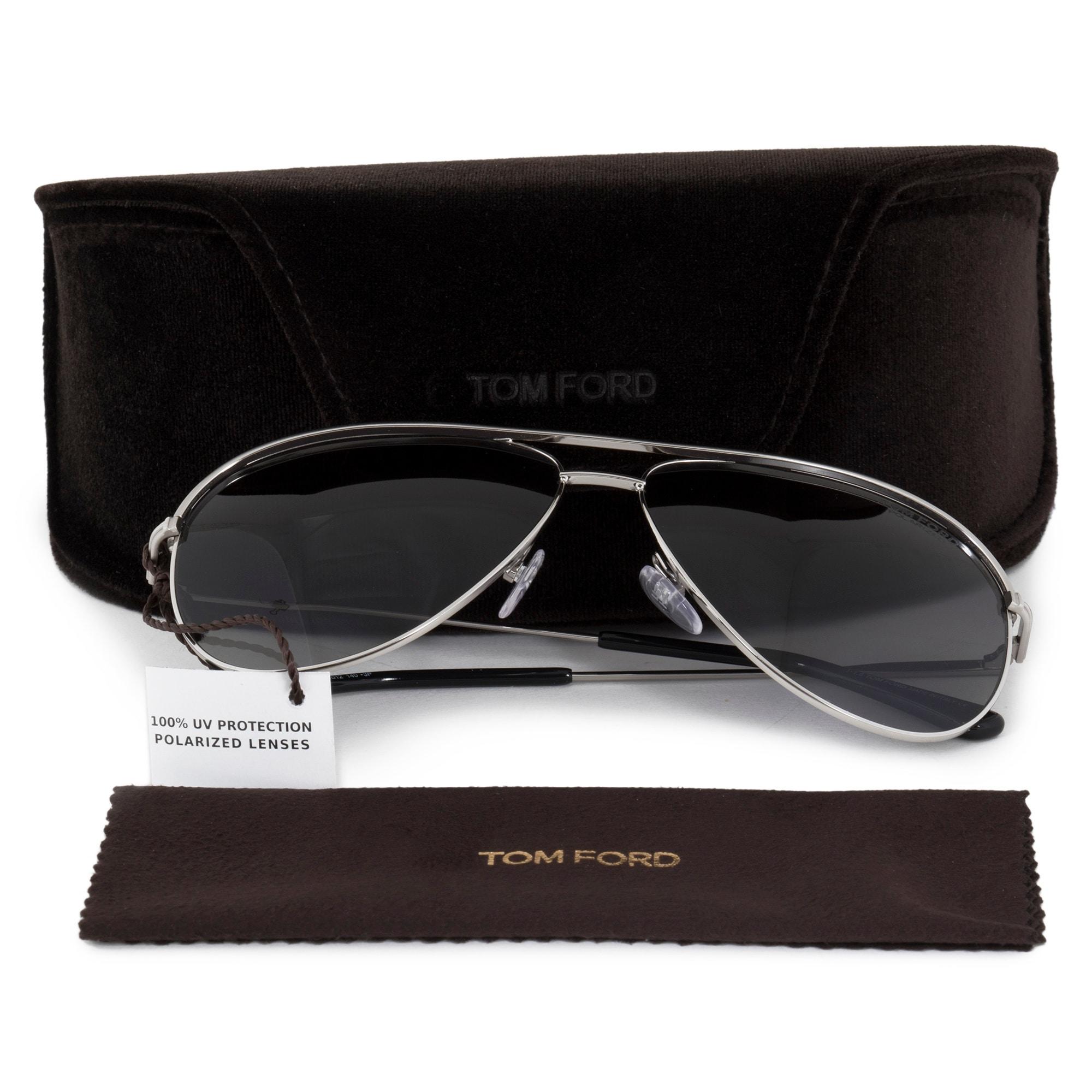 e9864070e0 Shop Tom Ford Erin Aviator Sunglasses FT0466 17D 61 POL - Free Shipping  Today - Overstock.com - 19623426