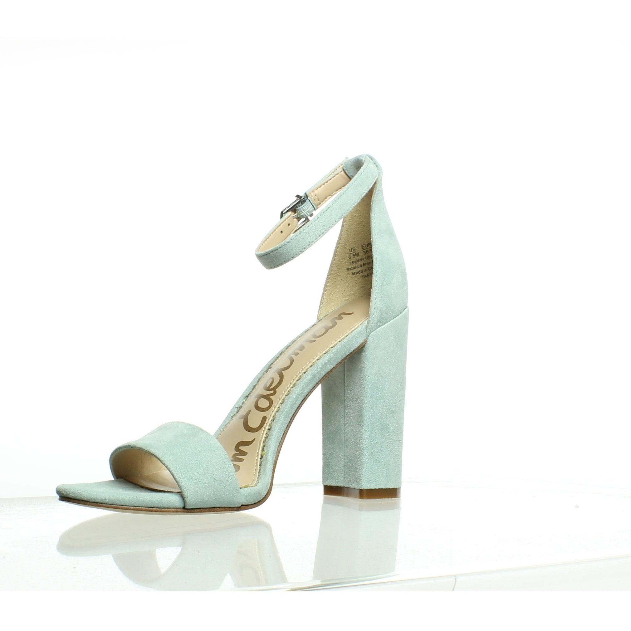 9d53bd3b4 Shop Sam Edelman Womens Yaro Amalfi Blue Ankle Strap Heels Size 6.5 - Free  Shipping Today - Overstock - 27799375