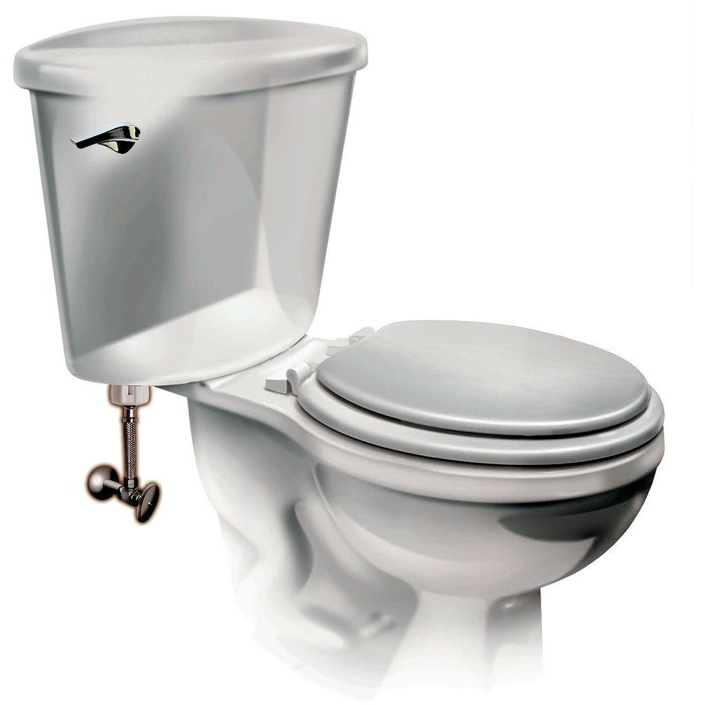 Fluidmaster 4T12UCSR 12in Toilet Connector with Multiple Connection Sizes -  N/A - N/A