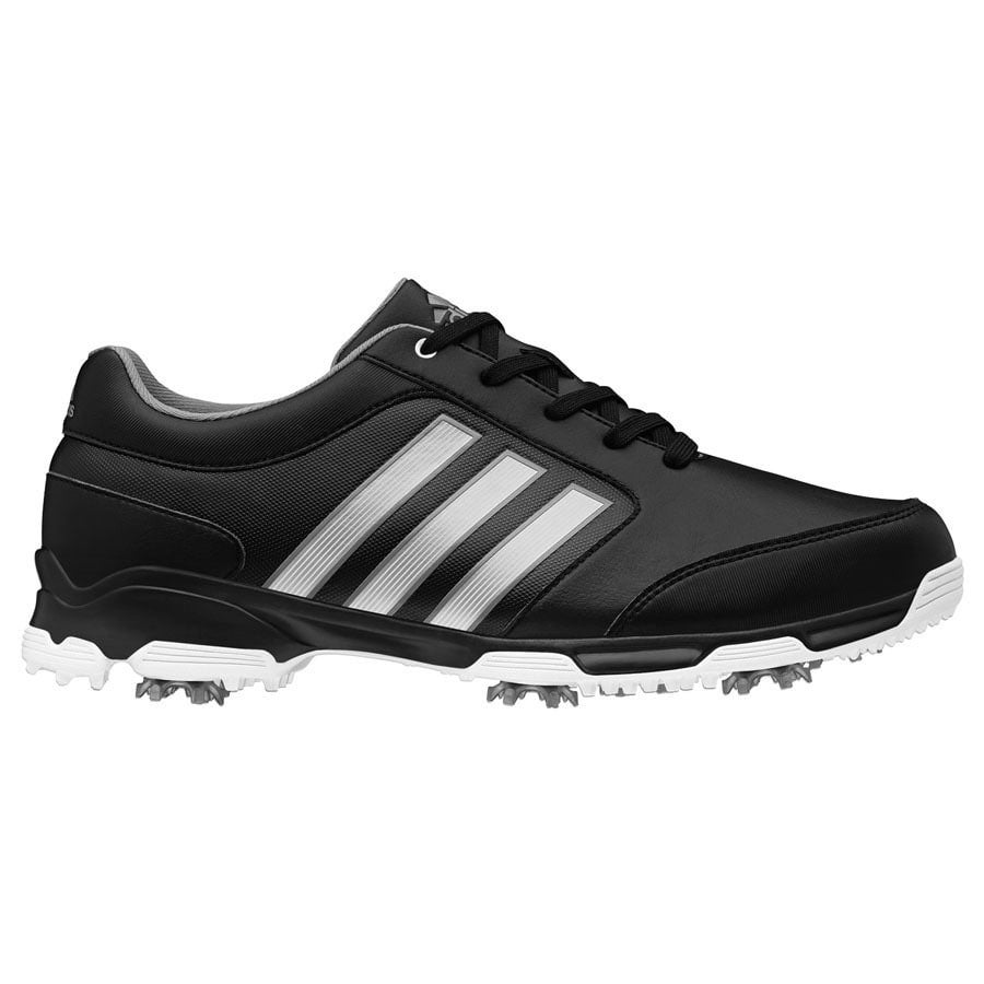 d6abfbd15 Shop Adidas Men s Pure 360 Lite Black Silver White Golf Shoes Q46894    Q44810 - Free Shipping Today - Overstock - 18058330
