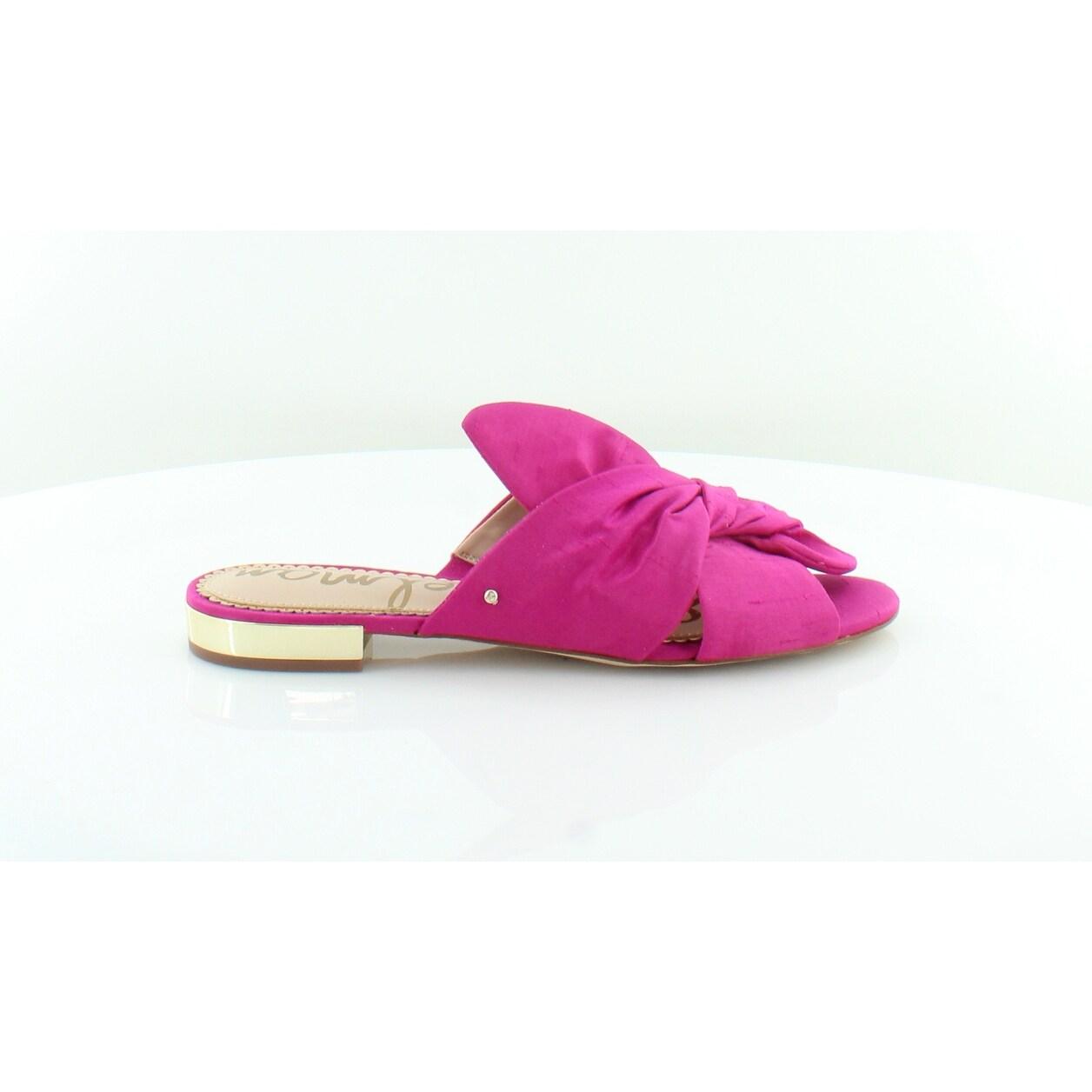 07f84e73c9f2 Shop Sam Edelman Darian Women s Sandals Deep Pink - Free Shipping Today -  Overstock - 26510273