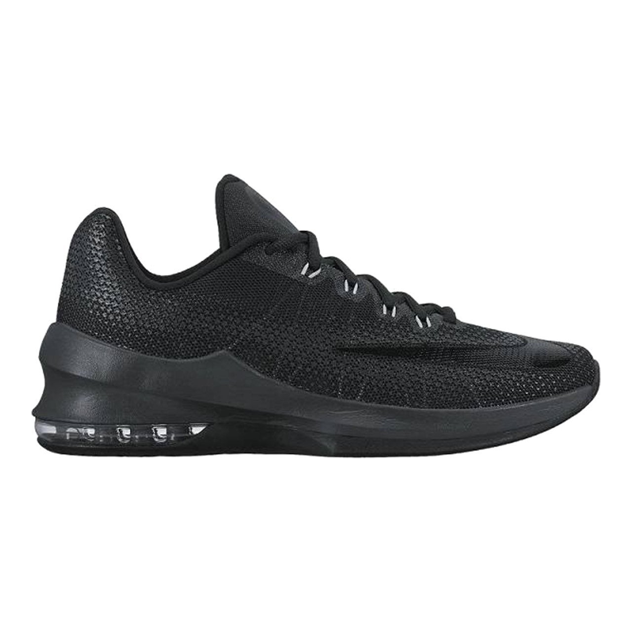 wholesale dealer 799f0 e8565 Shop Men s Nike Air Max Infuriate Low Basketball Shoe Black Anthracite Dark  Grey, US Men - black anthracite dark grey - Free Shipping Today - Overstock  - ...
