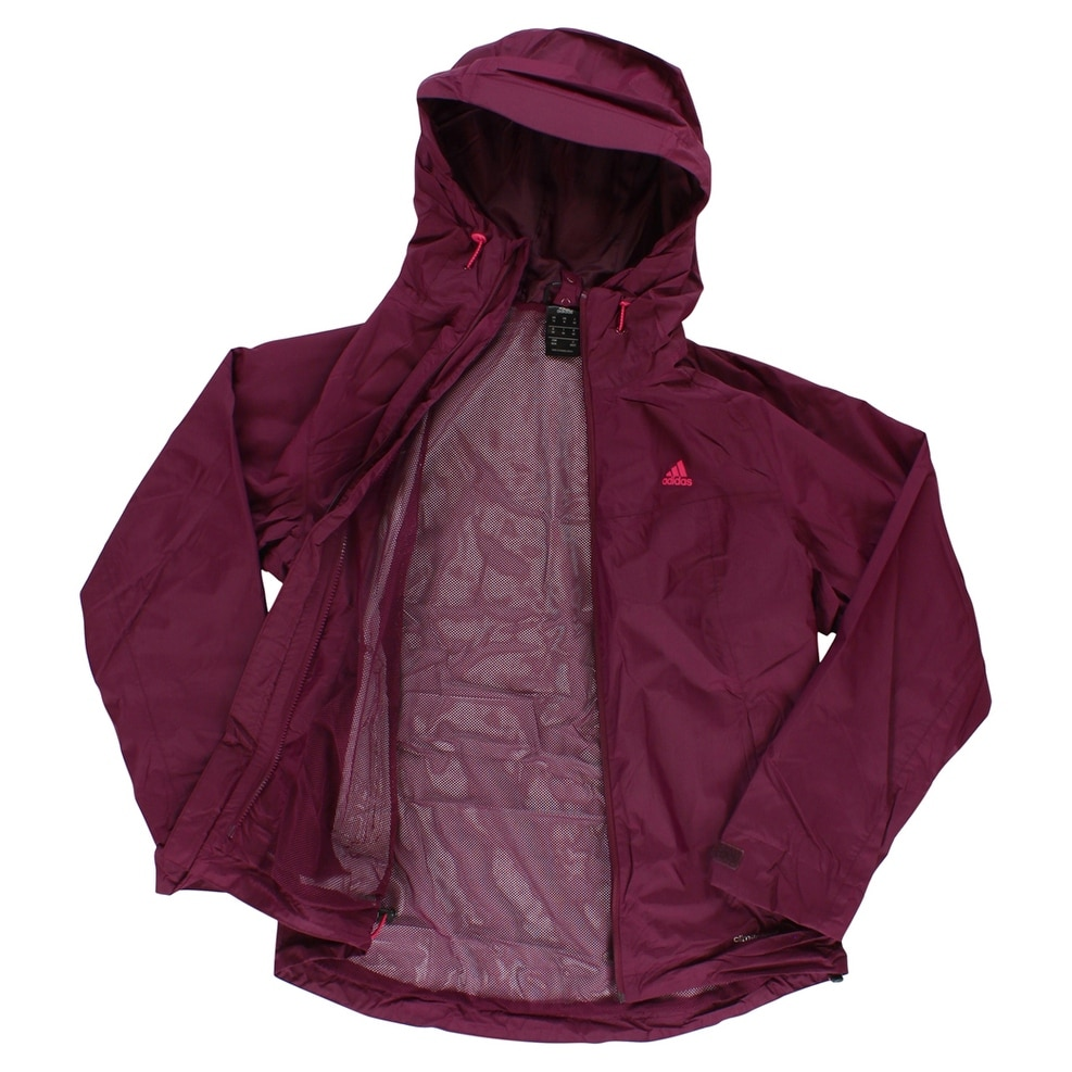 f3579c7bbd195 Shop Adidas Womens Three in One Watertang Padded Jacket Purple -  Purple Pink - Free Shipping Today - Overstock - 22573997